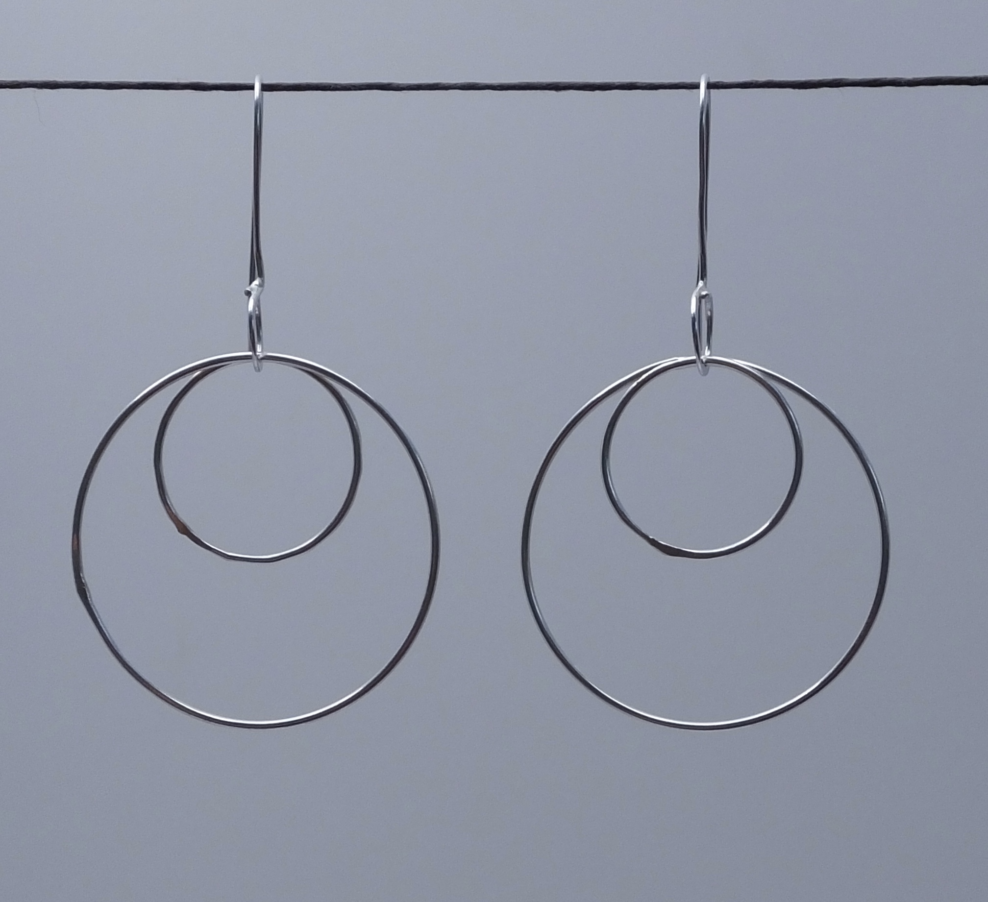 isabel plain earrings xs circle product lennse